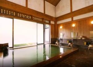 Naraya Ryokan public bath (source: Japanican)