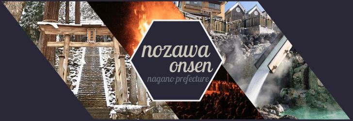 Collage of Nozawa Onsen sights