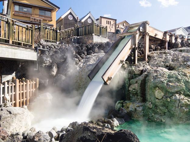 Beautiful hot springs at Nozawa Onsen