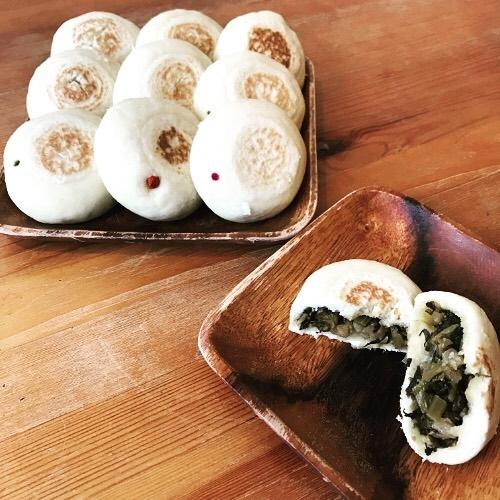 Oyaki snacks in Nagano (source: Haus St. Anton Facebook)