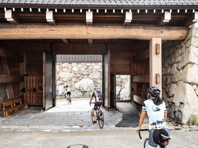Imabari Castle entrance