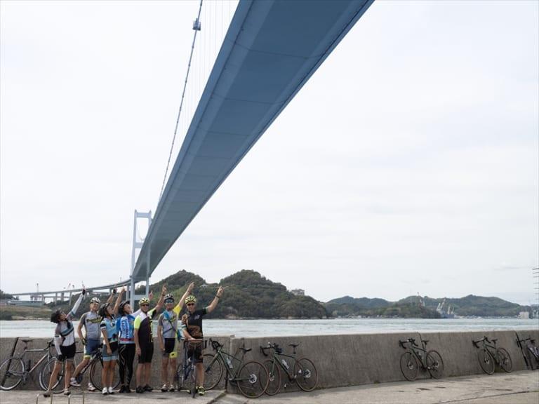 Kurushima Kaikyo Ohashi bridge Shimanami Kaido