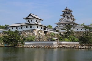 Imabari Castle in Imabari