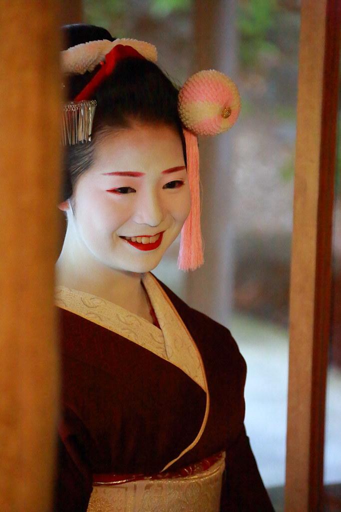Maiko apprentice geisha in Kyoto