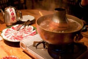 Shabu shabu hot pot in Japan