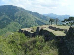 Takeda castle ruins in Hyogo Prefecture