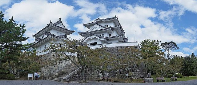 Iga Ueno Castle, located in Mie Prefecture