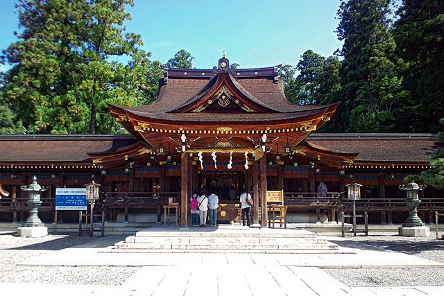 Taga Taisha Shrine in Shiga Prefecture