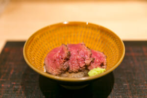 Wagyu rice bowl