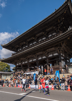 Kyoto Marathon scenery